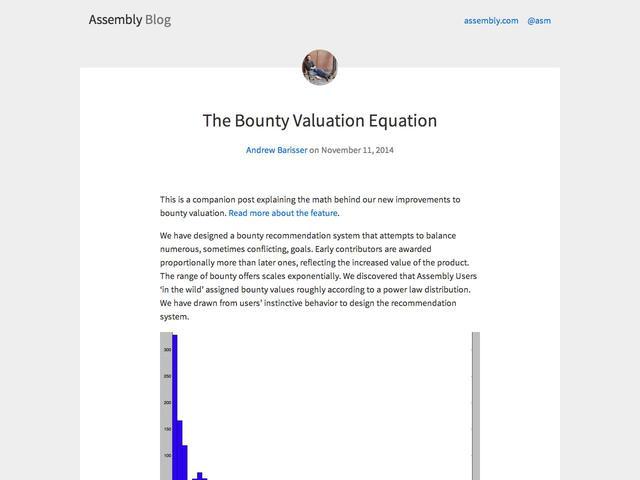 Assembly Blog